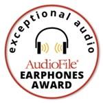 AudioFile Magazine Earphones Award for Exceptional Audio